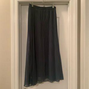 Dusty Blue Maxi Skirt